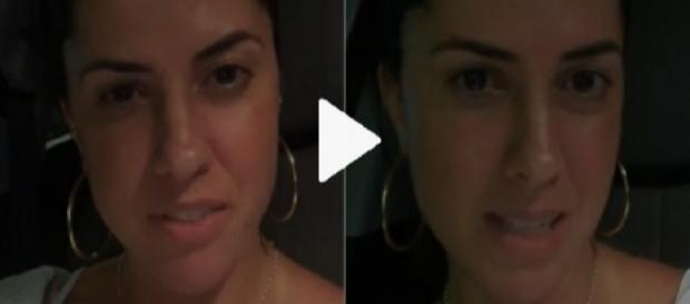 Graciele grava vídeo com indiretas - Google