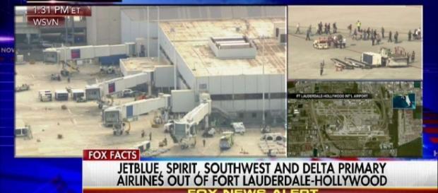 Inre-un aeroport din Florida, un individ a deschid focul