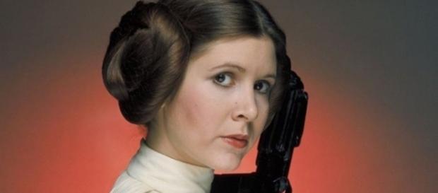 Princesa Leia, de Star Wars, foi a personagem marcante da carreira de Carrie Fisher (foto: Divulgação)