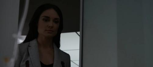 "Aida (Malory Jansen) in ""The Laws of Inferno Dynamics""/Photo via screencap, 'Agents of SHIELD'/ABC"