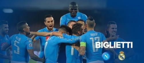 Biglietti Napoli-Real Madrid di Champions League