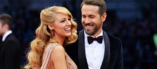 Blake Lively 'Banned' Ryan Reynolds from Naming Their Second Child before the 2017 Golden Globes / Photo via: com.au