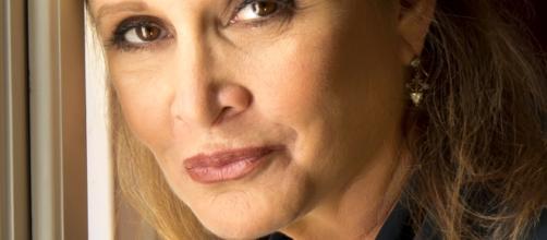 Carrie Fisher enriqueceu a saga Star Wars com seu talento (Foto de Riccardo Ghilardi)