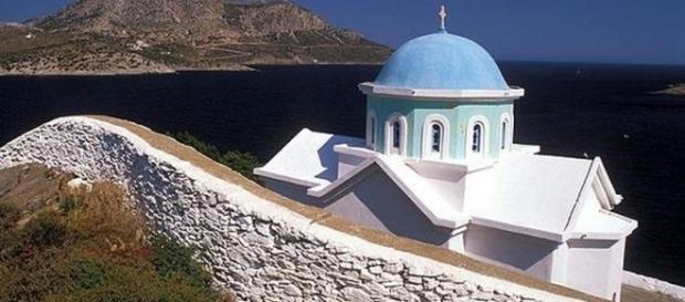 Igreja Ortodoxa típica das ilhas gregas