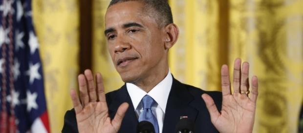 Ist mit sich zufrieden: Barack Hussein Obama. (Fotoverantw./URG Suisse: Blasting.News Archiv)
