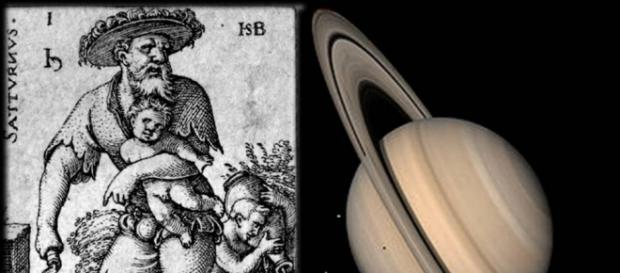Saturno ou Cronos para os gregos é o deus romano do tempo