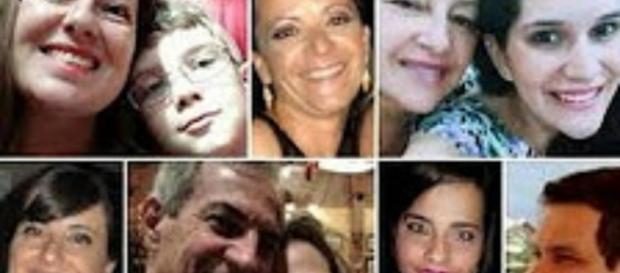 Vítimas da chacina de Campinas