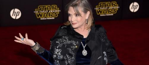 Carrie Fisher Responds to Criticism About Her Look in New 'Star ... - hollywoodreporter.com