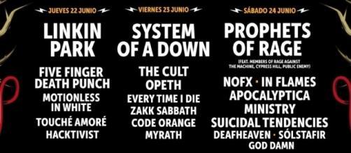 Download Festival 2017, Caja Magica.