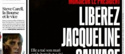 'Señor Presidente, libere a Jacqueline Sauvage', suplicaba el diario 'Libération' hace meses.