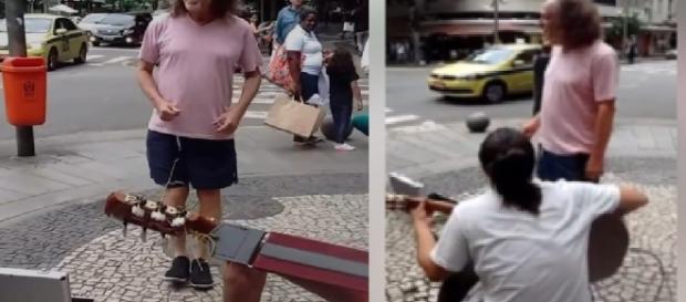 Alceu Valença canta na rua - Google