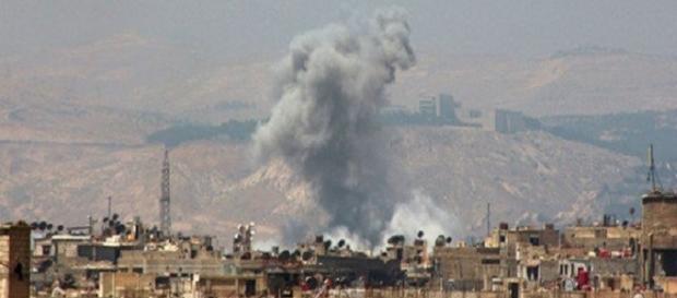 Doppia esplosione sull'ambasciata russa in Siria