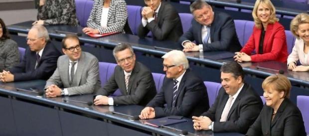Fähig zur Führung? Die Regierung Merkel. (Fotoverantw./URG Suisse: Blasting.News Archiv)