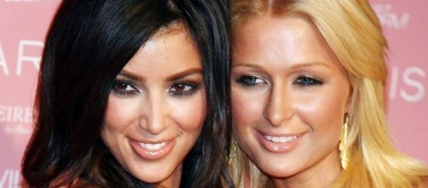 Kim y Paris se amigan durante Navidad
