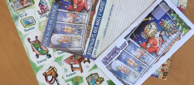 Las cartas de los reyes magos se envían virtuales en Valencia