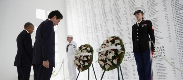 The Day - Japan's prime minister visits Pearl Harbor, offers ... - theday.com