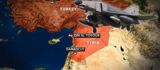 Turquia combate o Estado Islâmico na Síria