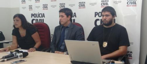Delegada Gislaine Oliveira Rios, da Delegacia de Homicídios de Contagem