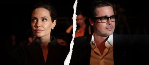 Divorce d'Angelina Jolie et de Brad Pitt