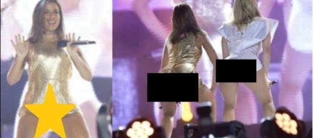 Anitta exagera na coreografia e mostra peças íntimas - Google