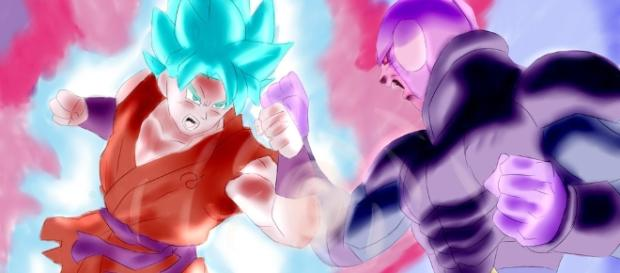 Goku Vs Hit (Dragon Ball Super) by JoazDA on DeviantArt - deviantart.com