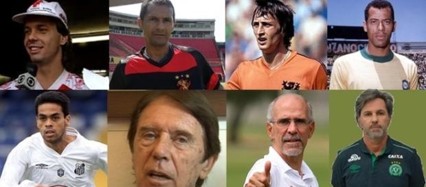 Leonardo, Cruyff, Maldini e Mário Sérgio foram alguns dos ex-jogadores que morreram em 2016