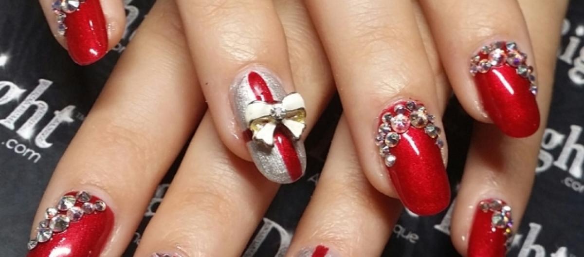 Unghie Con Disegni Di Natale.Gel Unghie Rosso I Consigli Per Le Feste Di Natale