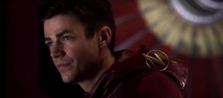 "Barry Allen (Grant Gustin) in ""Present""/Photo via screencap, 'The Flash'/The CW"