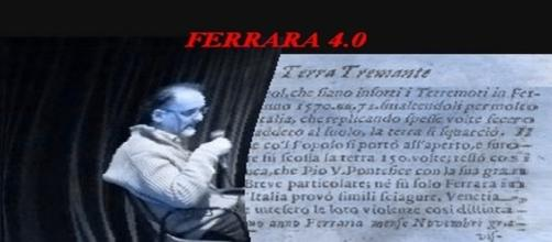 Claudio Pisapia, Ferrara, conferenza 'visual poem by futuguerra' - originale.