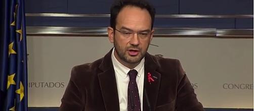 El portavoz del PSOE en el Congreso, Antonio Hernando. EFE