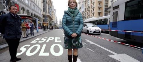 Esperanza Aguirre en uno de los memes