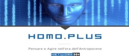 Homo Plus progetto editoriale, logo *dal sito
