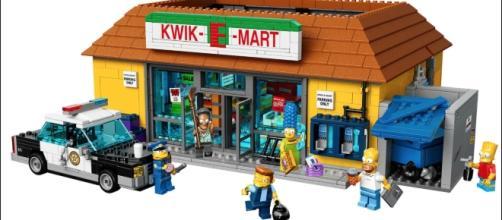 Il Jet Market in versione Lego dalla serie I Simpson