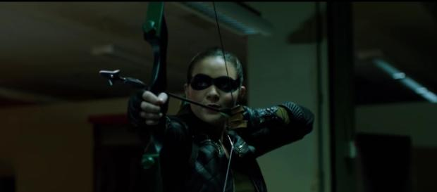 "Artemis (Madison McLaughlin) in ""What We Leave Behind""/Photo via screencap, 'Arrow'/The CW"