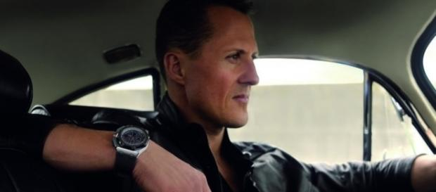 Michael Schumacher 2013 in an ad photo for Audemars Piguet watches / Foto: Nymans Ur - mynewsdesk, CC BY 3.0 (Wikimedia)
