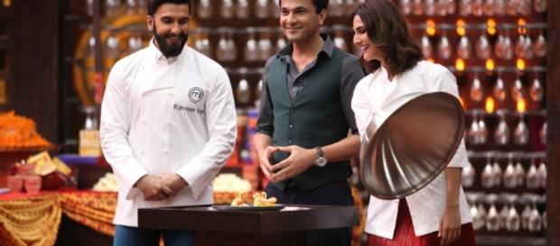 Ranveer Singh meets Chef Vikas Khanna on MasterChef India Season 5 ... - ibtimes.co.in