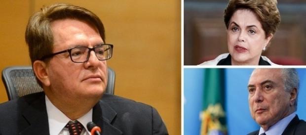 Relator é contra a divisão da chapa Dilma-Temer (Foto: Reprodução)