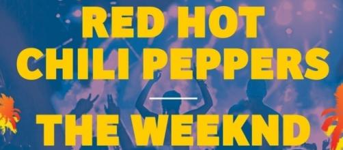 Red Hot Chili Peppers, The Weeknd, Foals al FIB