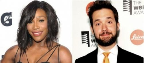 Tennis star Serena Williams gets engaged to Reddit's Alexis Ohanian / Photo sreencap from AffinityMag via Twitter