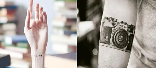 Uma simples tatuagem pode mostrar o amor e dedicação que você tem pelo seu trabalho