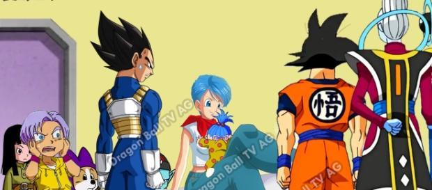 """Capítulo 77 Dragon Ball Super """"Los sobrevivientes del universo"""", """" Nace Bra"""""""