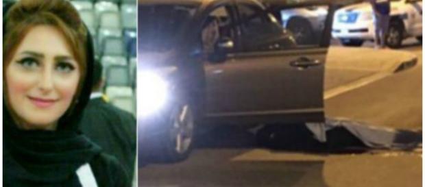 Eman Salehi, de 28 anos, foi assassinada com um tiro