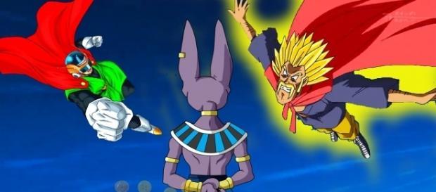 La película del Gran Saiyaman en el capitulo 73 de Dragon Ball Super