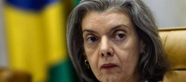 Ministra Cármen Lúcia se manifestou sobre uma reintegração de fazenda.