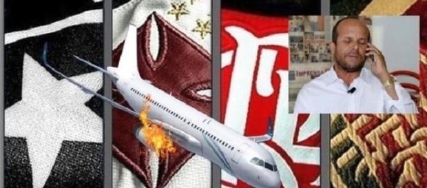 Vidente Carlinhos prevê trágico acidente com voo de time carioca, porém não soube informar se haveriam mortos (Fonte: Google Imagens)