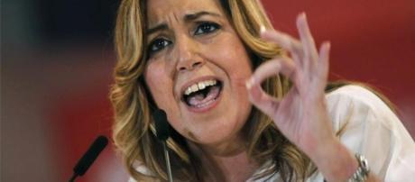 Susana Díaz, presidenta de la comunidad de andalucia