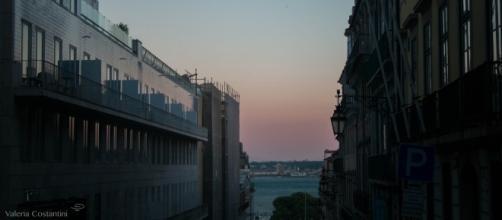 Atardecer en Lisboa. Fotografía concedida por Valeria Costantini