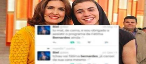 """Biel posta vídeo relembrando suas apresentações no """"Encontro"""""""