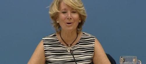 Espperanza Aguirre, política española