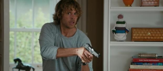 "Deeks (Eric Christian Olsen) in ""High Value Target""/Photo via screencap, 'NCIS: LA'/CBS"